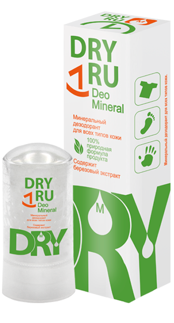 Dry RU Deo Mineral